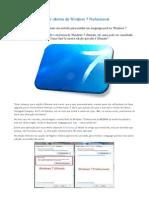 Windows 7 Professional ( Alterando Idioma )