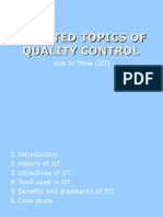Selected Topics of Quality Control 2