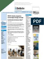 HECO Rebate Programs