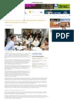 27-04-11 Diputados integrarán mesa técnica para análisis de reforma electoral en Sonora