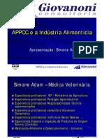 APPCC e a Industria cia