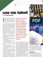 Aerospace Singapore Article on Talent Vol 4 2011