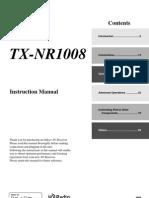 Onkyo Manual