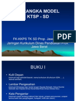 Kerangka Model KTSP SD