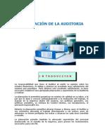 PLANEACIÓN DE LA AUDITORIA