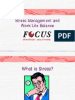Stress Management and Work (Rev 1)