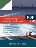 Asian Security Futures
