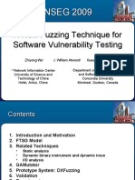 A New Fuzzing Technique for Software Vulnerability Mining