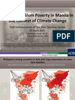 Gender and Slum Poverty in Manila in the Context of Climate Change