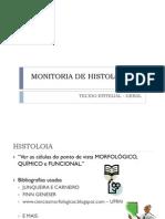 MONITORIA DE HISTOLOGIA