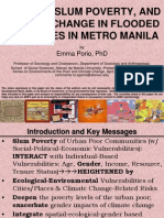 Gender, Slum Poverty and Climate Change in Flooded River Lines in Metro Manila