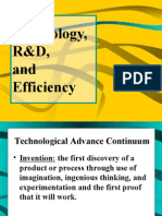 3R D and Technology
