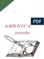 J. Franklin Snook America Needs The Divine Law