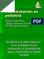 Deshidratación en pediatría , cuidados de enfermeria, electrolitos, sales de rehidratacion , pediatria, medio interno , agua,deplecion
