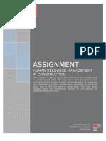 Assignment Personal Mangement