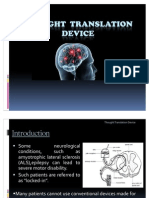 Thought Translation Device