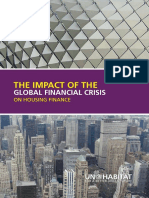 Impact of Global Financial Crisis on Housing Finance