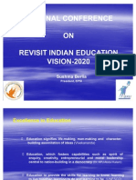 Revisit India Education-Vision 2020