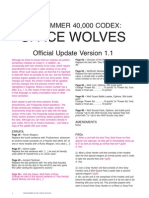 FAQ Space Wolves Version 1.1