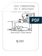 Analisis Conductual Basico y Aplicado