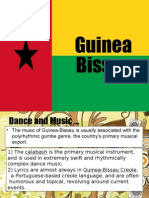 Ideas in Showcasing Culture for Guniea Bisau