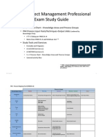 Pmp Exam Study Guide Pmbokv4