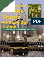 The Cronicle Khulafa Al Rashidin - Abu Bakar Part 1