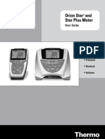 Orion Star Series Meter Users Guide
