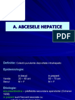 7abcese - traumatisme hepatice