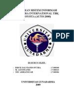 PT. Astra International Tbk. Toyota (AUTO 2000)