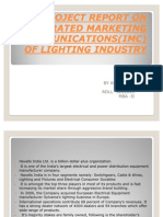 A Project Report on Integrated Marketing Imc