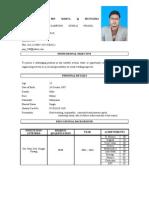 Resume Faizal b Marta @ Mustafha for NDT and Welding Inspection