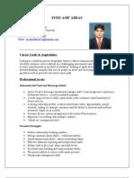 Restaurant Manager CV