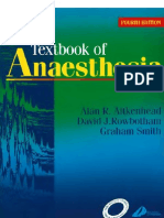 textbook of anaesthesia
