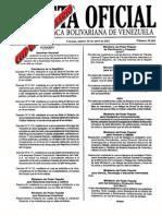 ESCALA DE SUELDOS Y SALARIOS -TABULADOR- GACETA OFICIAL 39660 DE 26 ABRIL 2011