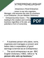 Rural.entrepreneurship