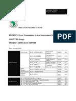 KENYA -Power Transmission System Improvement Project