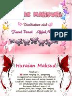 Sajak Mahsuri