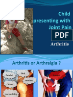 Child Presenting With Joint Pain