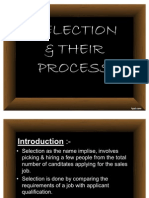 Selection & Their Process