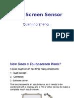 Touch Screen Sensor Matheen