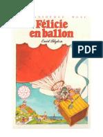 Blyton Enid Félicie T3 Félicie en ballon
