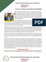 Por Dios, que pasa en las Fuerzas Militares de Colombia