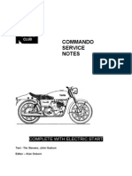 Norton 750cc Service Notes