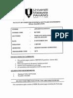 Bct2053 - Applied Statistics