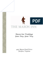 Wedding Packages - Mason Inn Conference Center, Fairfax, Virginia, United States