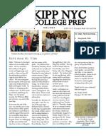 KIPP NYC CP April Newsletter