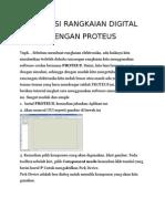 Proteus Rangkaian Digital