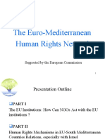 Euro-mediterranean Human Rights Network