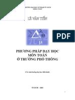 Phuong Phap Day Hoc Toan - Thuvientoanhoc